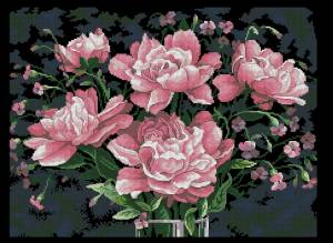 Схема Великолепие розового / Tickled Pink