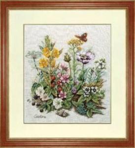 Схема Полевые цветы / Field flowers - Coraline