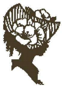 Схема Оранэ силуэт / Orane