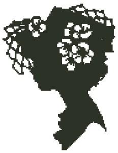 Схема Клотильда силуэт / Clothilde