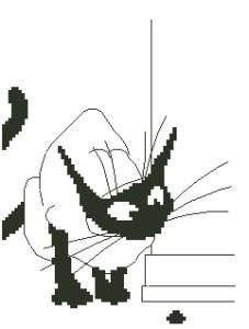 Схема Кот в дозоре / Kat