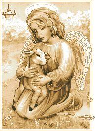 Схема Ангел с козленочком