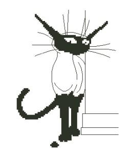 Схема Величественный кот / Kat
