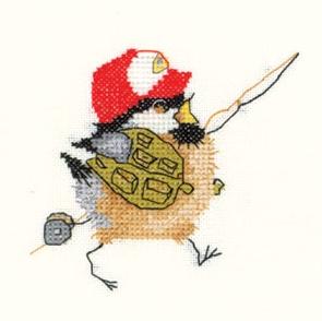 Схема Цыплёнок-рыбак / Fisherman Chick