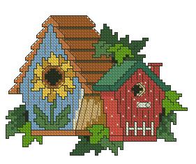 Схема Два скворечника / Gardener's Delight