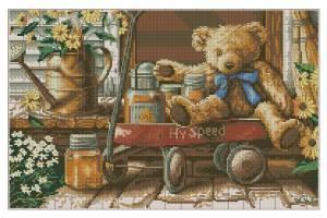 Схема Медведь с медом