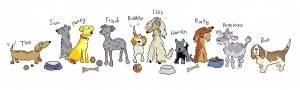 Схема Собаки в ряд!