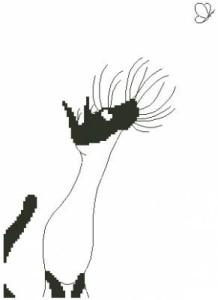 Схема Кот и бабочка / Kat