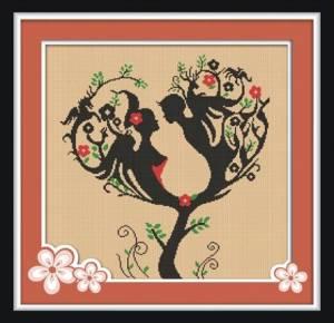 Схема Дерево любви