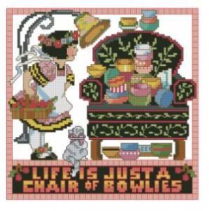 Схема Жизнь есть только… / Chair of bowlies