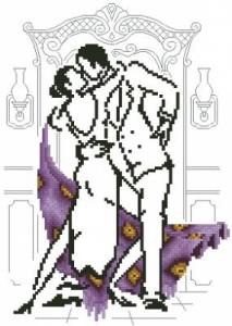 Схема Танец в лиловом