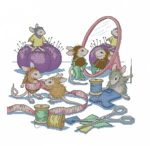 Схема Заняты шитьем