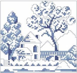 Схема Деревушка