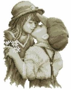 Схема Первый поцелуй
