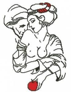 Схема Персидские мотивы. Притяжение