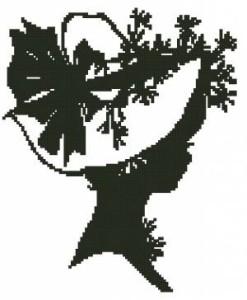 Схема Туанетта силуэт / Toinette