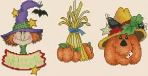 Схема Хэллоуин, тыква