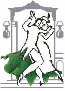 Схема Танец в зелёном