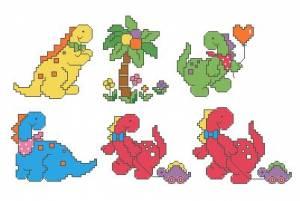 Схема Динозаврики