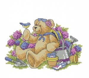 Схема Медведь в саду