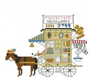 Схема кухня на колесах