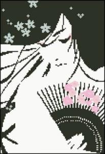 Схема Японка с веером