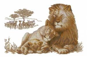 Схема Львиное семейство