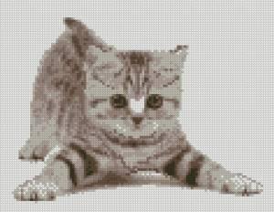 Схема Неуклюжий котенок