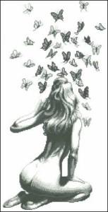 Схема Танец бабочек
