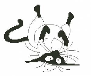 Схема Довольный кот  / Kat