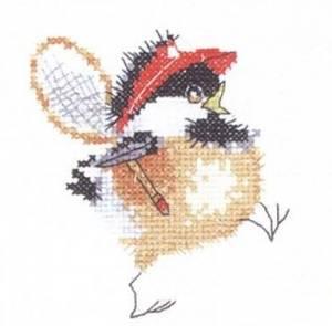Схема Цыплёнок-теннисист / Tennis Chick