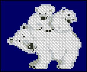 Схема Белые медведи