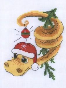 Схема Новогодний змей