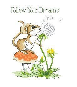 Схема Нежные мысли. Следуй за своей мечтой!