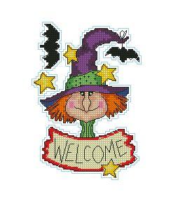Схема Приглашение на хеллоуин