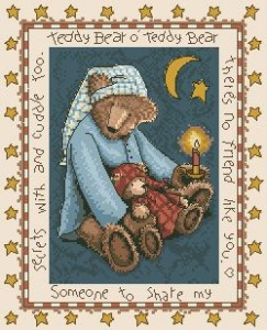 Схема Мишка с мишкой / Teddy Bear