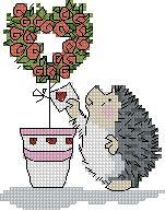 Схема Сердце-роза