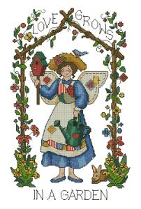 Схема Любовь вороны / Gardener's Delight