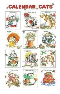 Схема Кошачий календарь