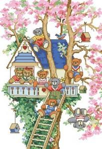 Схема Мишки на дереве