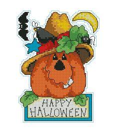 Схема Счастливого хеллоуина