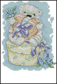 Схема Мишка и подарок