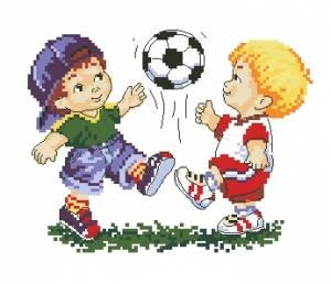 Схема Футболисты