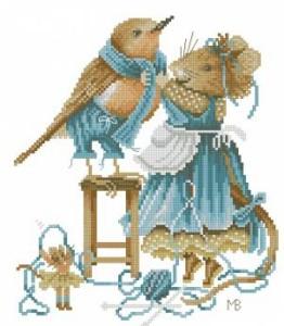 Схема Мышка и птица