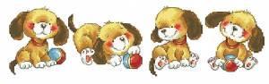 Схема Веселые щенки