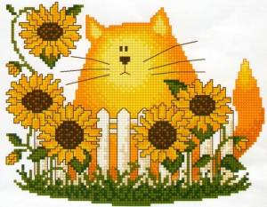 Схема Подсолнечный кот