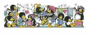 Схема Семейка пингвинов