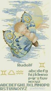 Схема Малыш (на бабочке) Стихия ВОЗДУХ