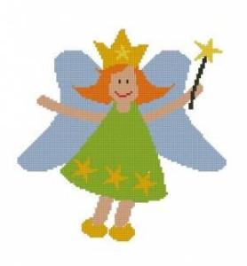 Схема Маленькая фея (звездочки)