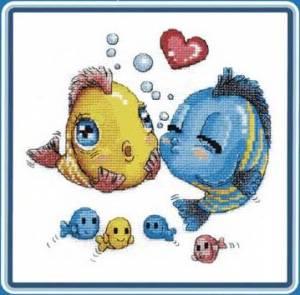 Схема влюбленные рыбки